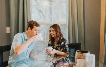 Michael + Elyse | College Park Engagement