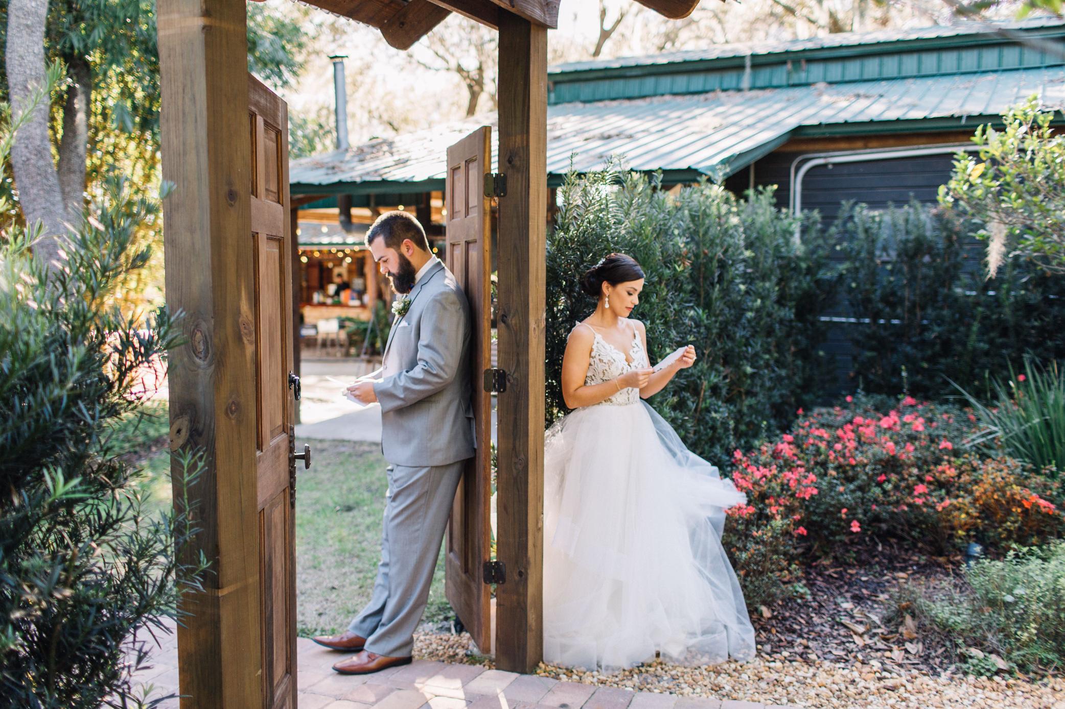 Brandon + Chelsea Club Lake Plantation Apopka Wedding Venue